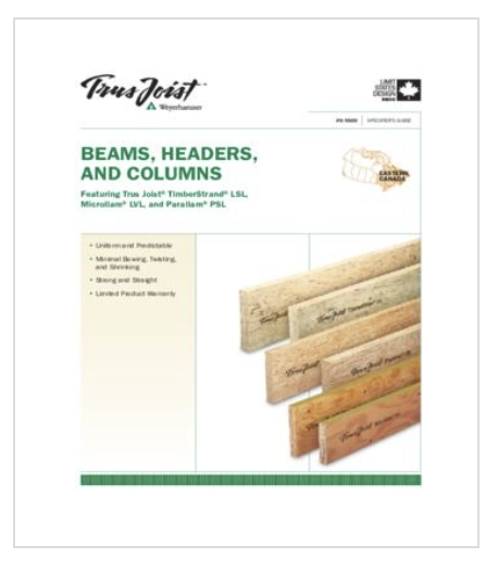 Resources - Trus Joist - Beams, Headers and Columns
